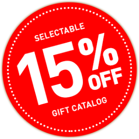SELECTABLE GIFT CATALOG 15%OFF